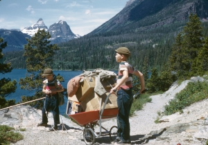 Moving In to Sun Camp